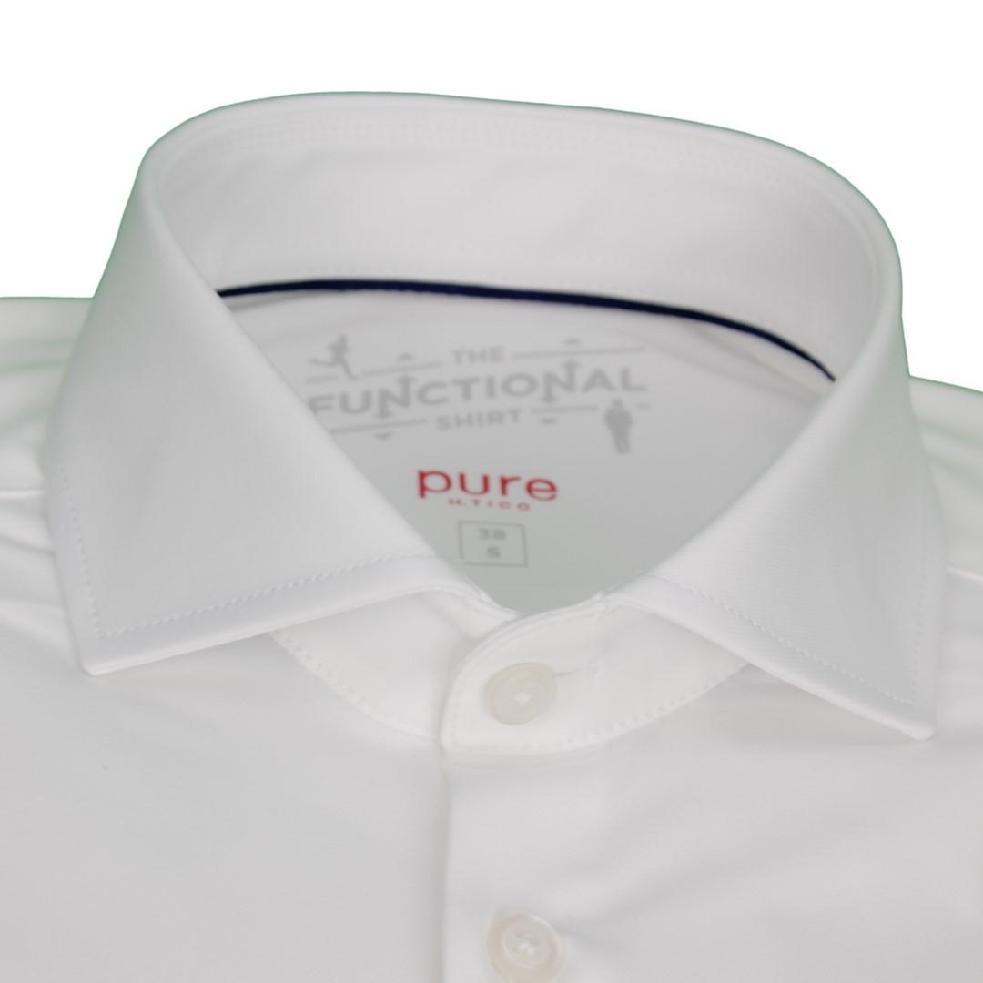 Pure Herren Functional Hemd weiß unifarben 4030 21750 900