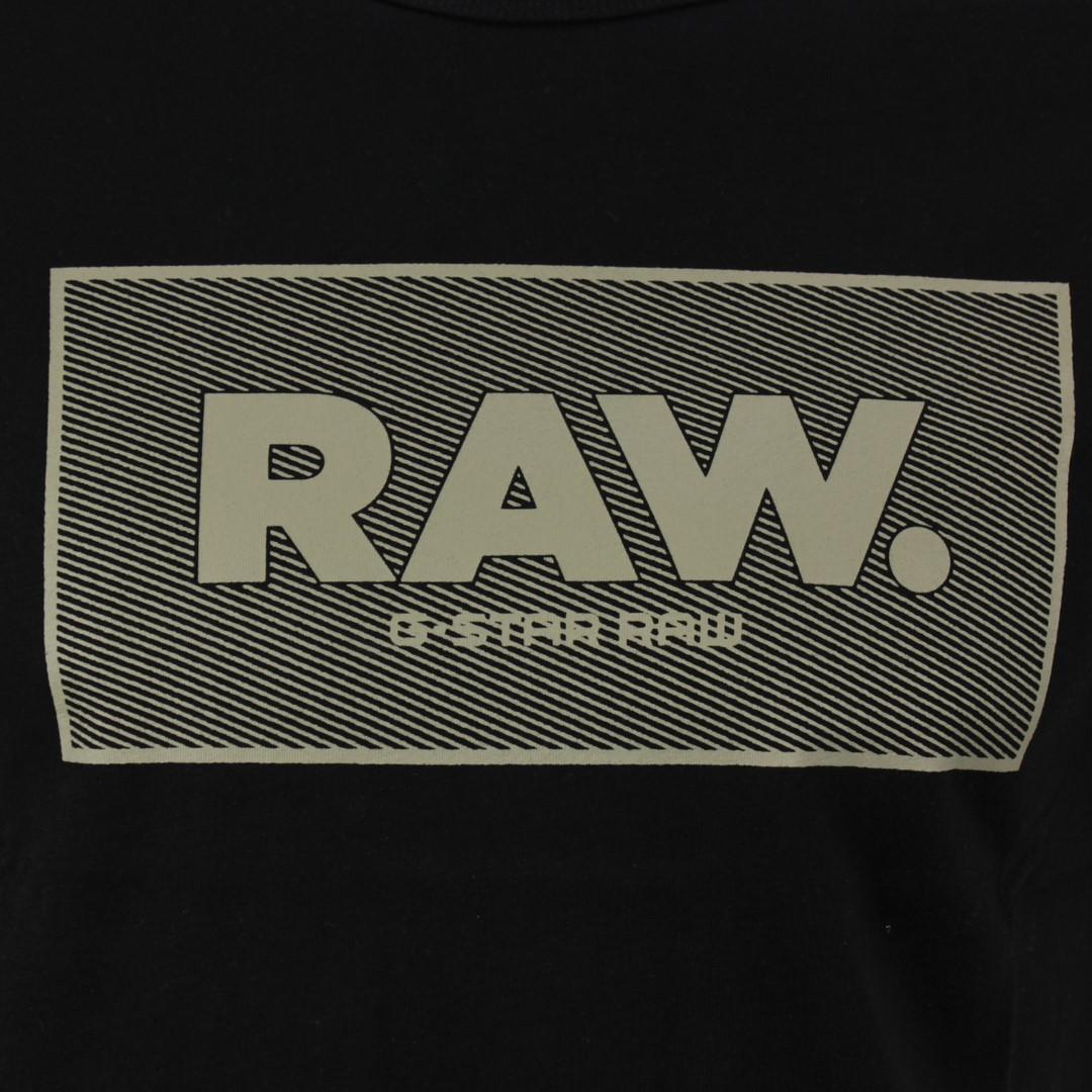 G-Star Raw Herren T-Shirt Boxed GR schwarz D16375 336 6484
