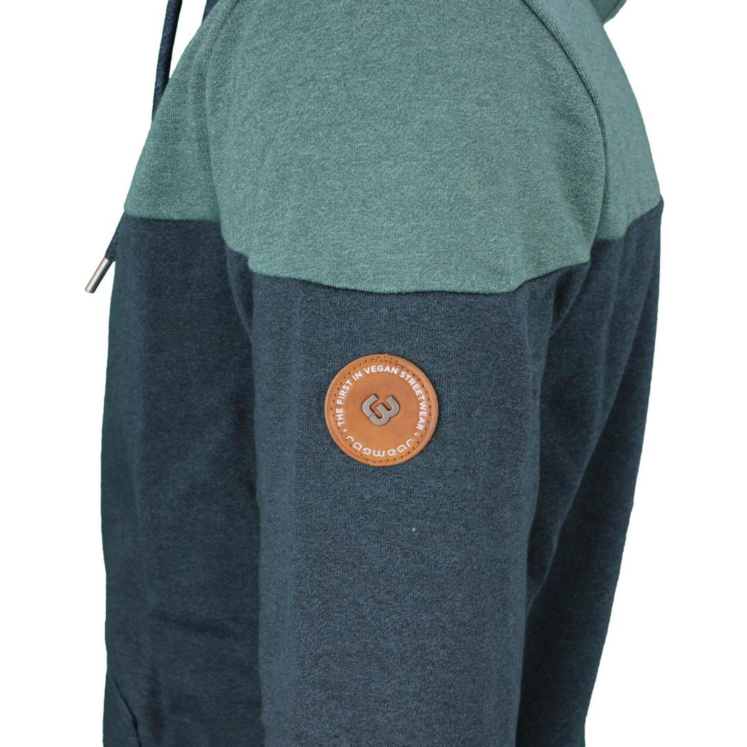 Ragwear Herren Sweat Jacke blau grün Tommie 2112 30022 5036 dusty green