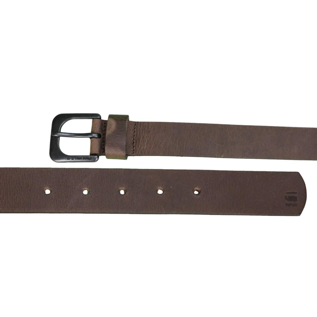 G-Star Raw Leder Gürtel Zed Belt braun D04169 3127 8127