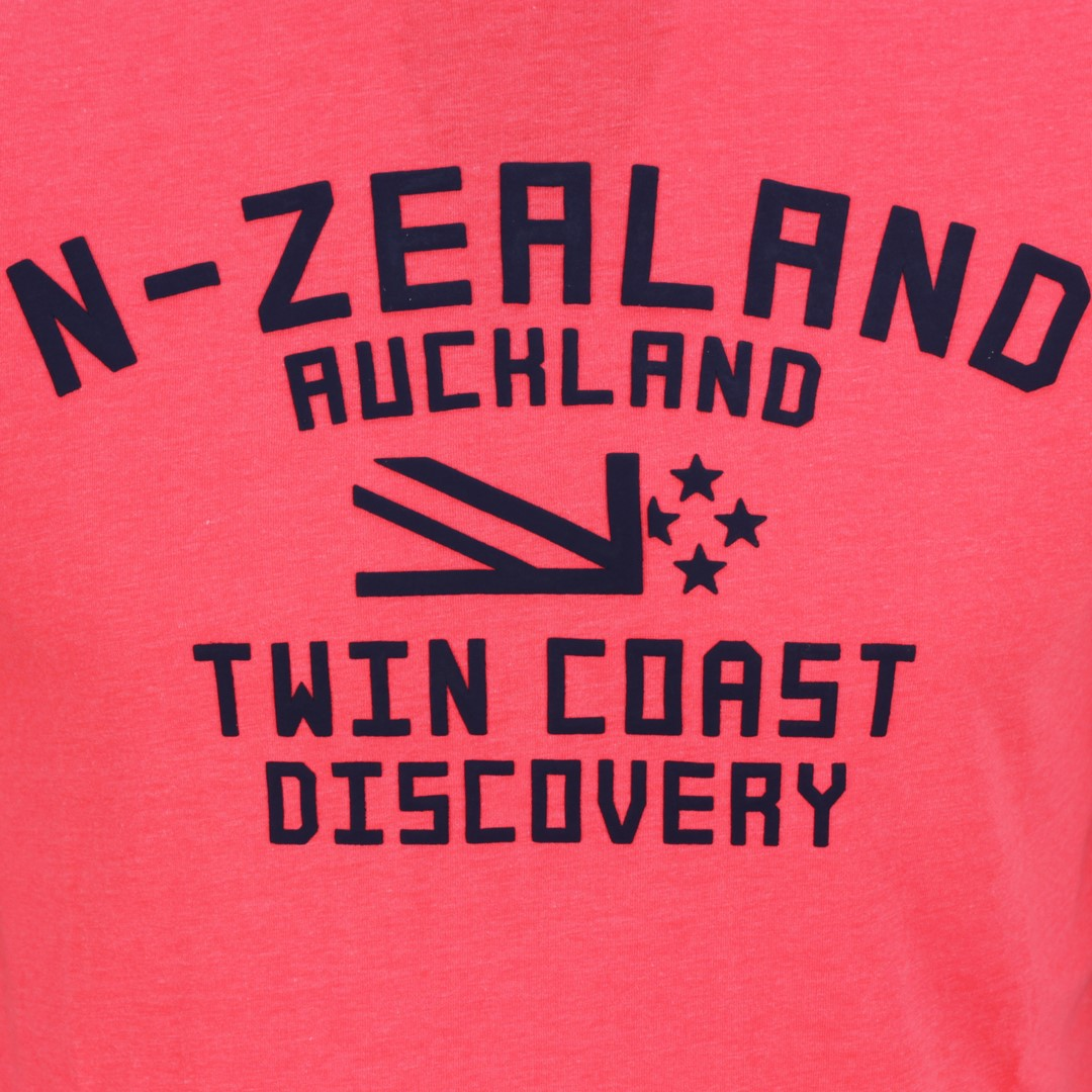 New Zealand Auckland NZA Herren T-Shirt orange rot 20DN705 632 Bright orange
