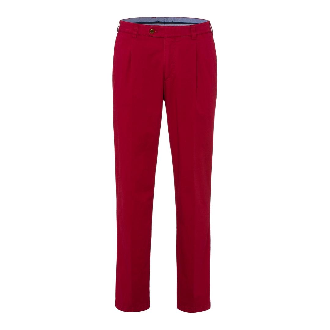 Eurex Bundfaltenhose Pima Cotton Gabardine Style Luis 347 52 160745 05831620 45