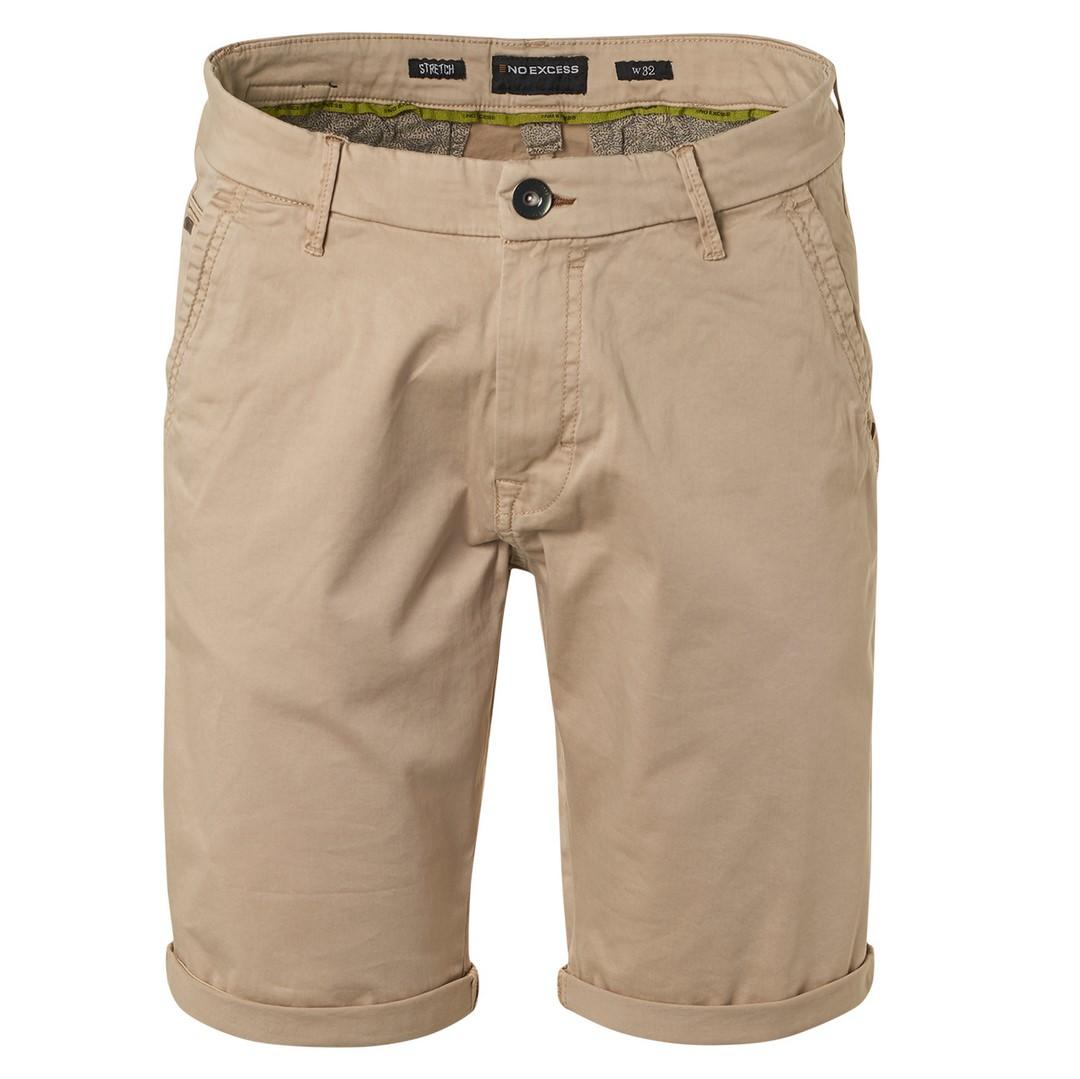 No Excess Chino Short beige unifarben 118190306 043
