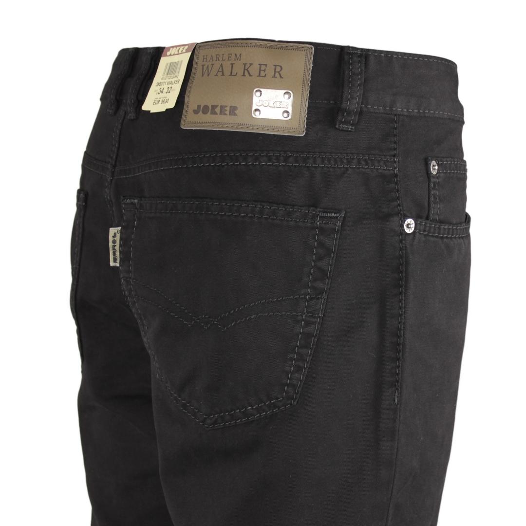 Joker Walker Jeans Hose Comfort Fit Baumwolle schwarz denim 131 3800 11 WALKER