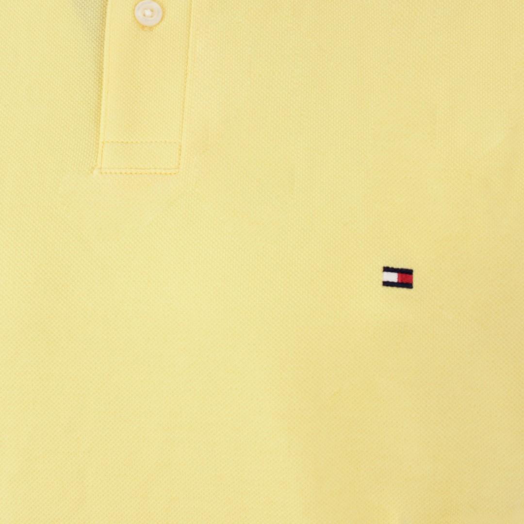Tommy Hilfiger 1985 Regular Polo Shirt gelb MW0MW17770 ZFF Delicate Yellow