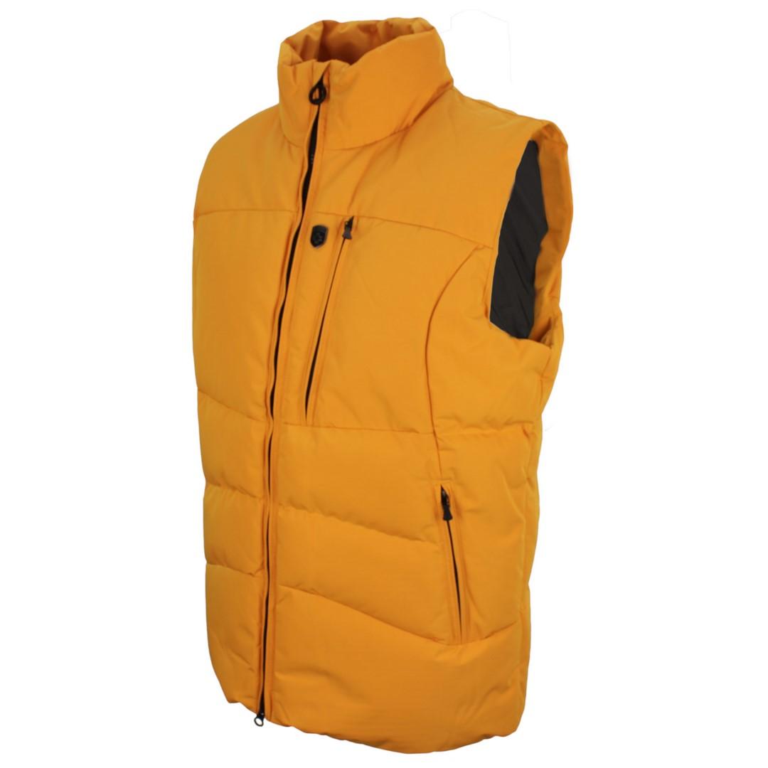 Wellensteyn Weste Nordsee gelb unifarben NOS 870 saffron