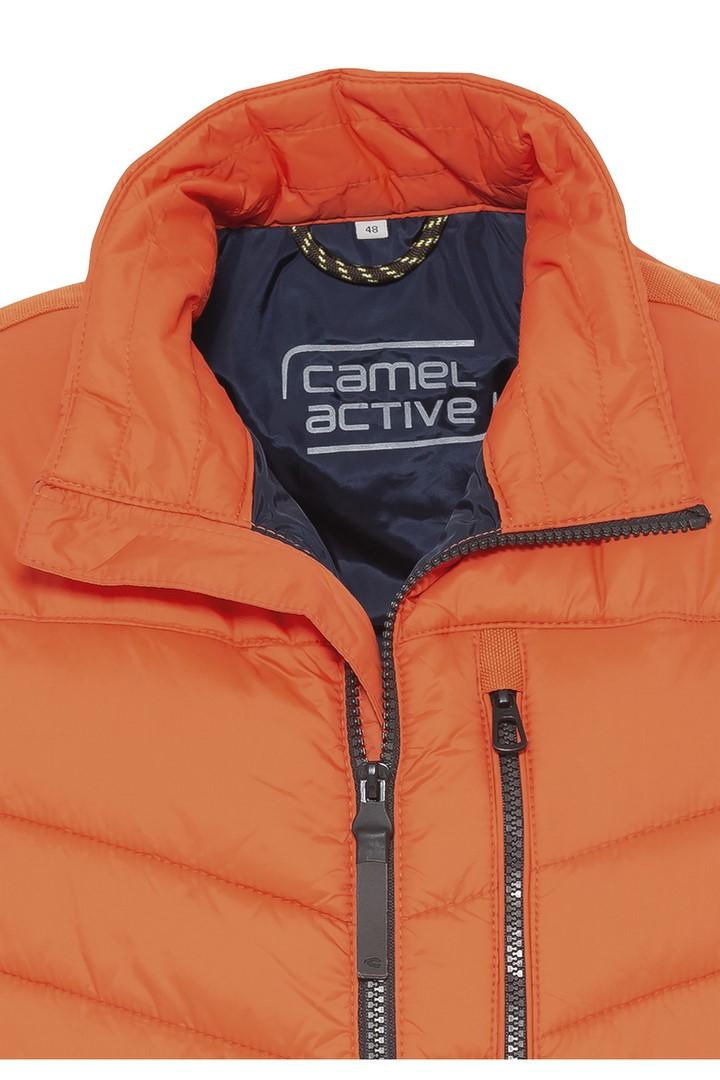 Camel active Herren Stepp Weste orange 5E52460200 55