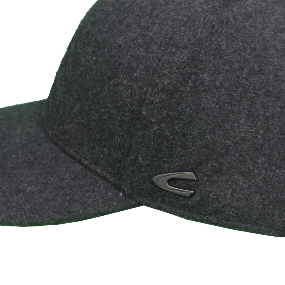 Camel active Herren Kappe Cap Mütze grau meliert 4C28 406280 07