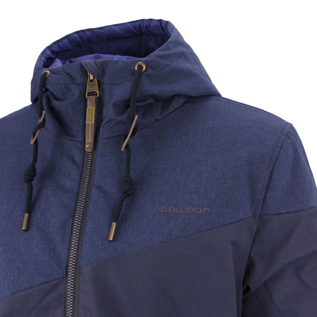 Ragwear Herren Vegane Winter Jacke blau 202 60007 Wings 2028 navy