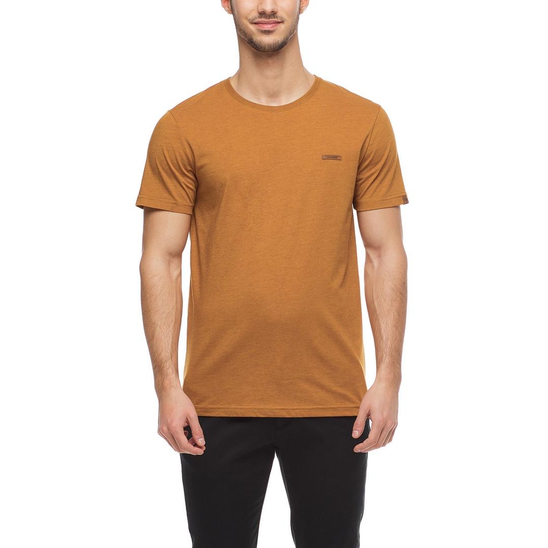 Ragwear Herren T-Shirt Shirt kurzarm Nedie vegan braun 2122 15001 6024 Cinnamon