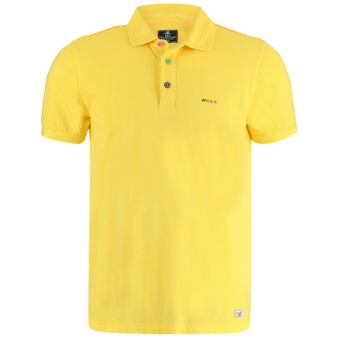 New Zealand Auckland NZA Polo Shirt gelb 21CN150 659