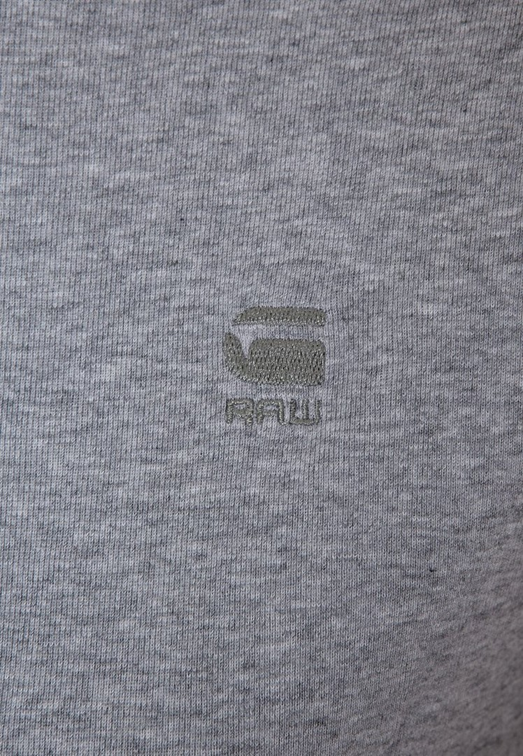 G-Star Raw Round Neck Doppelpack Basic T-Shirt grau D07205 124 906
