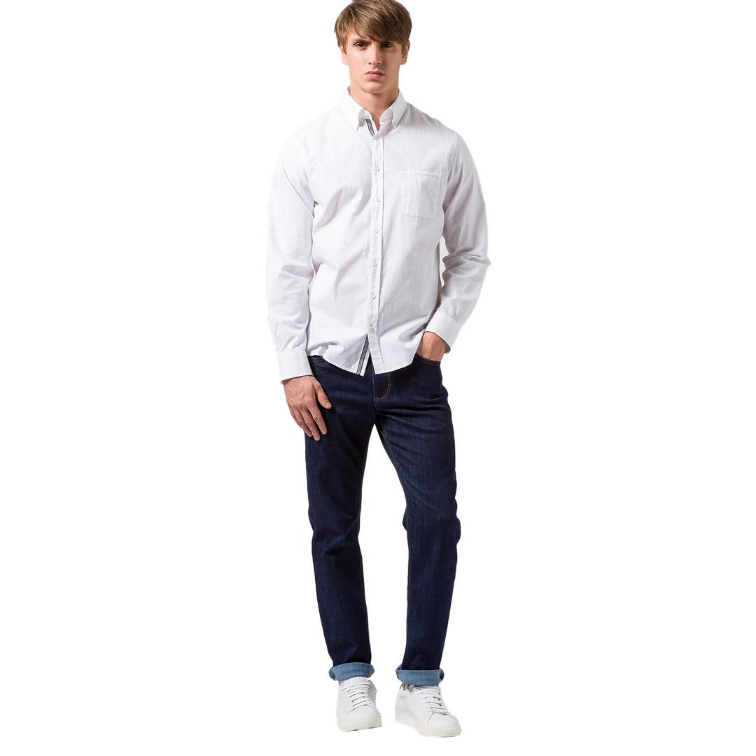 Brax Herren Jeans Hose Five Pocket Style Cooper Denim 80 300024 07964420 24 blue black