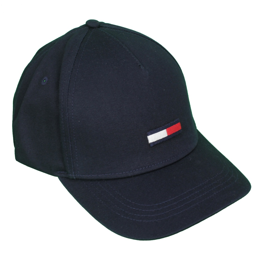 Tommy Hilfiger Herren Baseballcap Kappe Cap dunkelblau AU0AU00843 CHA Blue TJU Flag Cap