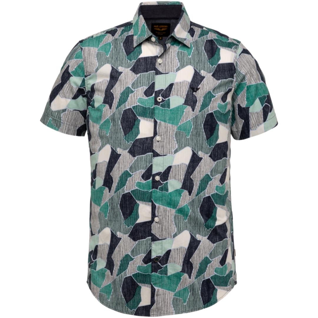 PME Legend Kurzarm Hemd mehrfarbig gemustert PSIS203227 5223