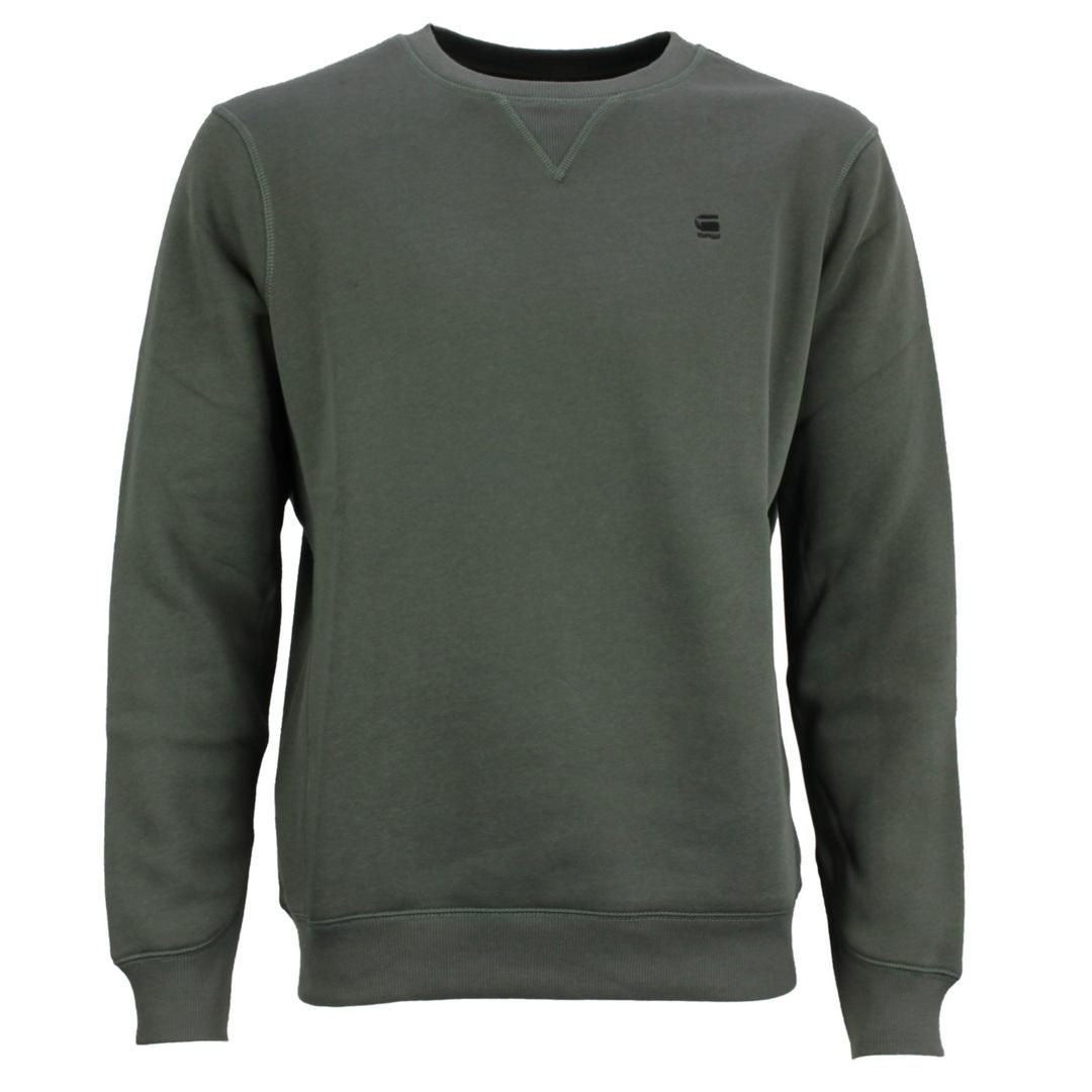 G-Star Raw Premium Core Sweat Shirt Sweatshirt Pulli graphite grau d16917 c235 996
