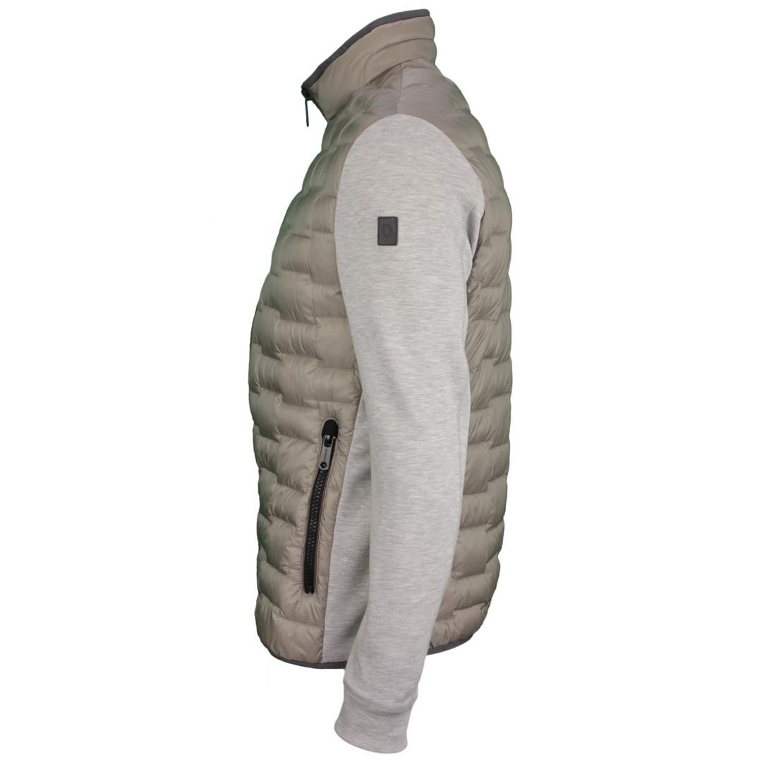 Milestone Herren Stepp Jacke grau Saleo 110400 14 grey