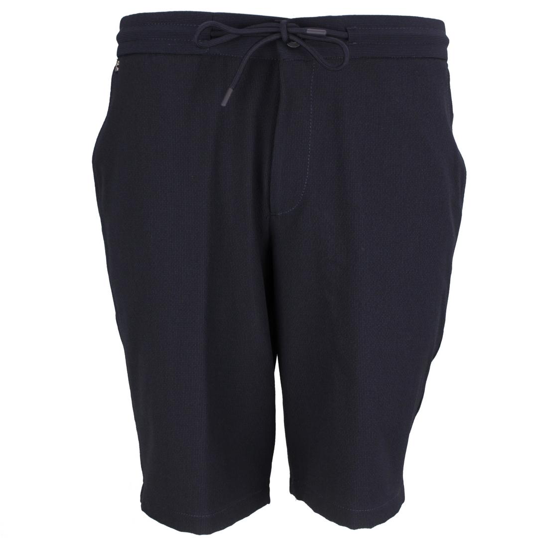 Gardeur Herren Chino Short dunkel blau unifarben Jasper-10 220121 69