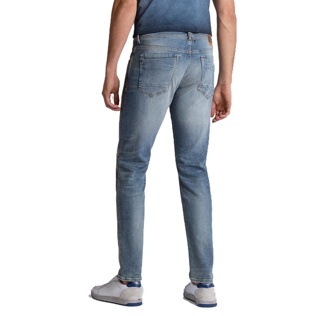 PME Legend Herren Jeans Hose Slim Fit Freighter Used Light blau PTR203123 USL