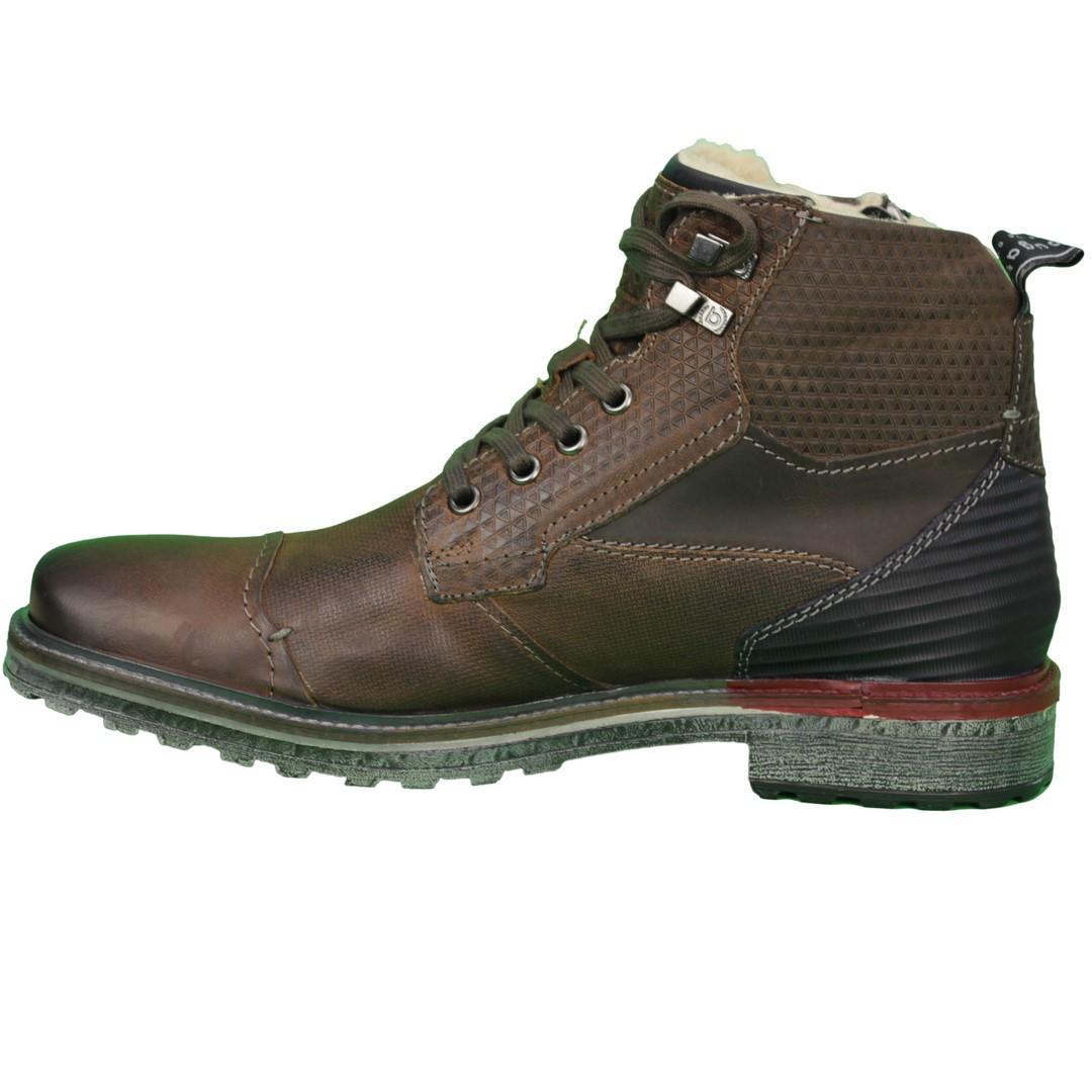 Bugatti Herren Schuhe Stiefel Boots braun 311 38252 3232 6115 dark brown  grey