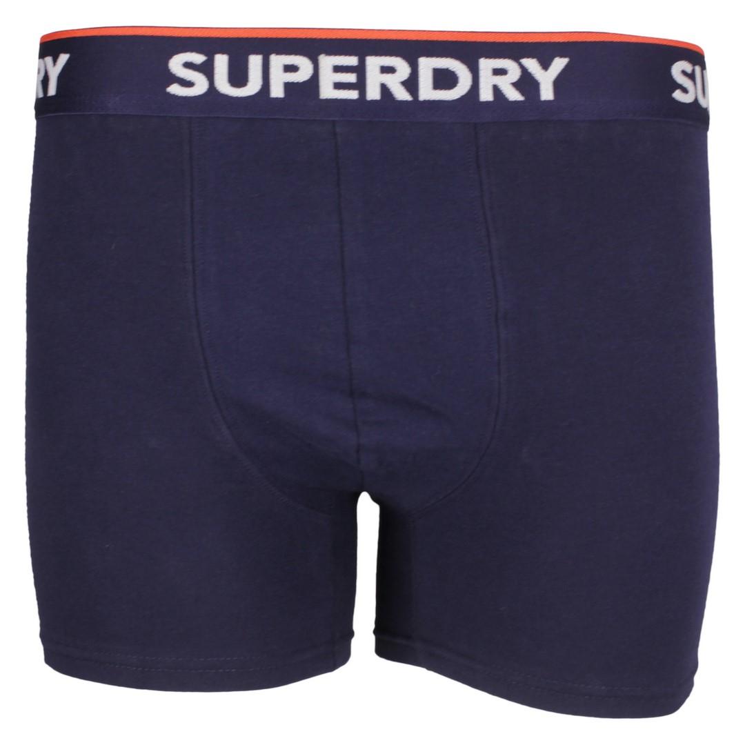 Superdry Boxershort Dreier Pack Boxer Triple Pack grau blau M3110082A 4JY