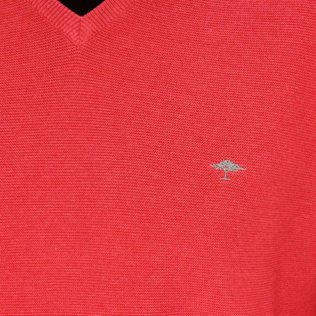 Fynch Hatton Herren Strick Pullover rot 1120234 277 red