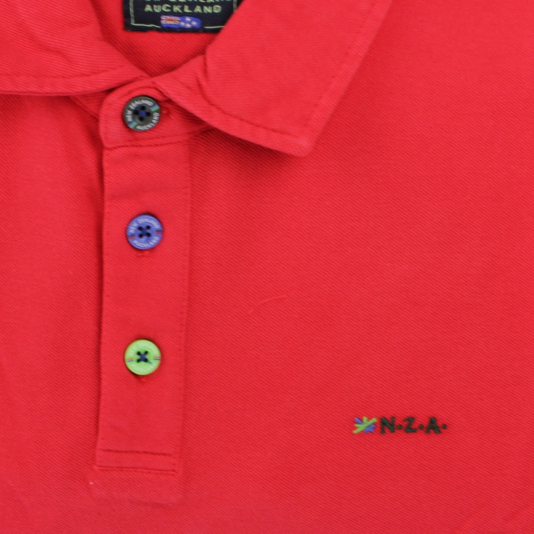 New Zealand Auckland NZA Polo Shirt rot 21CN150 606