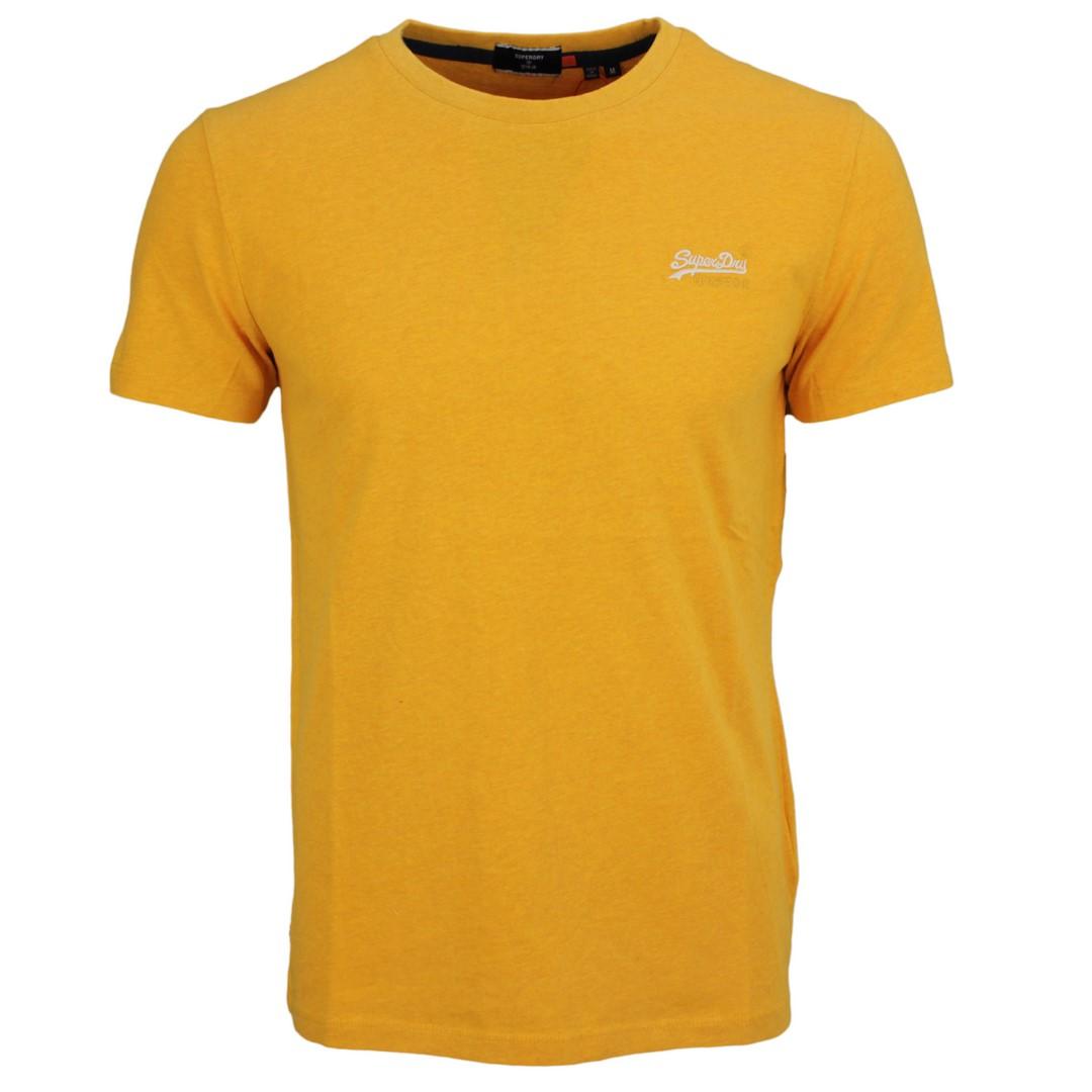 Superdry Herren T-Shirt Ol Vintage Tee gelb unifarben M1010222A 3PP gold