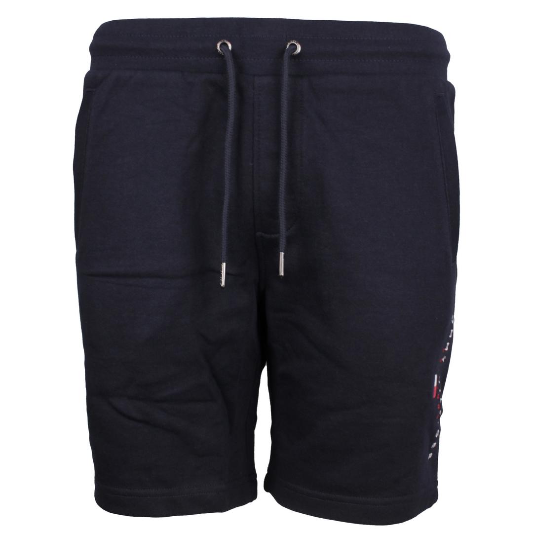 Tommy, Hilfiger, Sweat, Shorts, blau, Essential Tommy Sweatshort, MW0MW17401, DW5