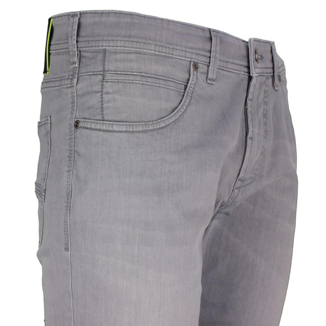 Gardeur Herren Move Lite Denim Jeans Hose Modern Fit grau BATU-4 470791 196