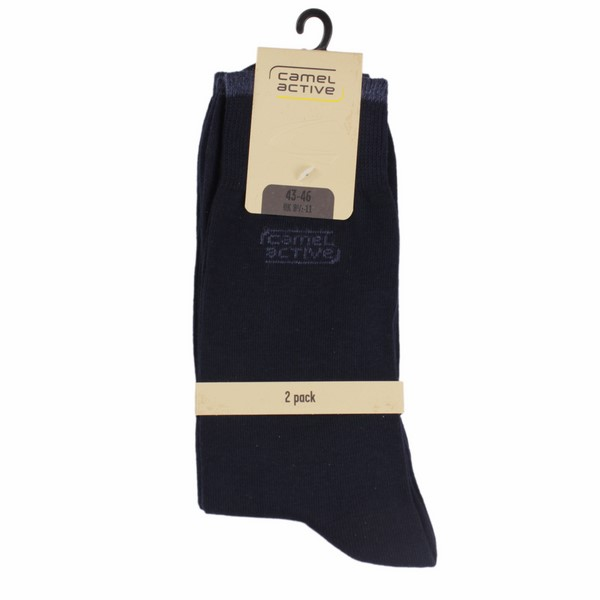 Camel active Socken Doppelpack in marine blau 6590 545