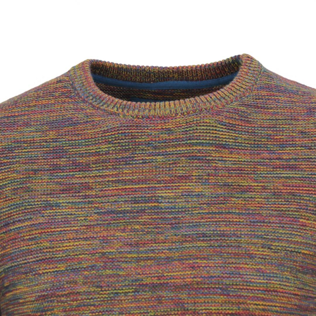 Colours & Sons Herren Strick Pullover Strickpullover mehrfarbig meliert 9220 136 921
