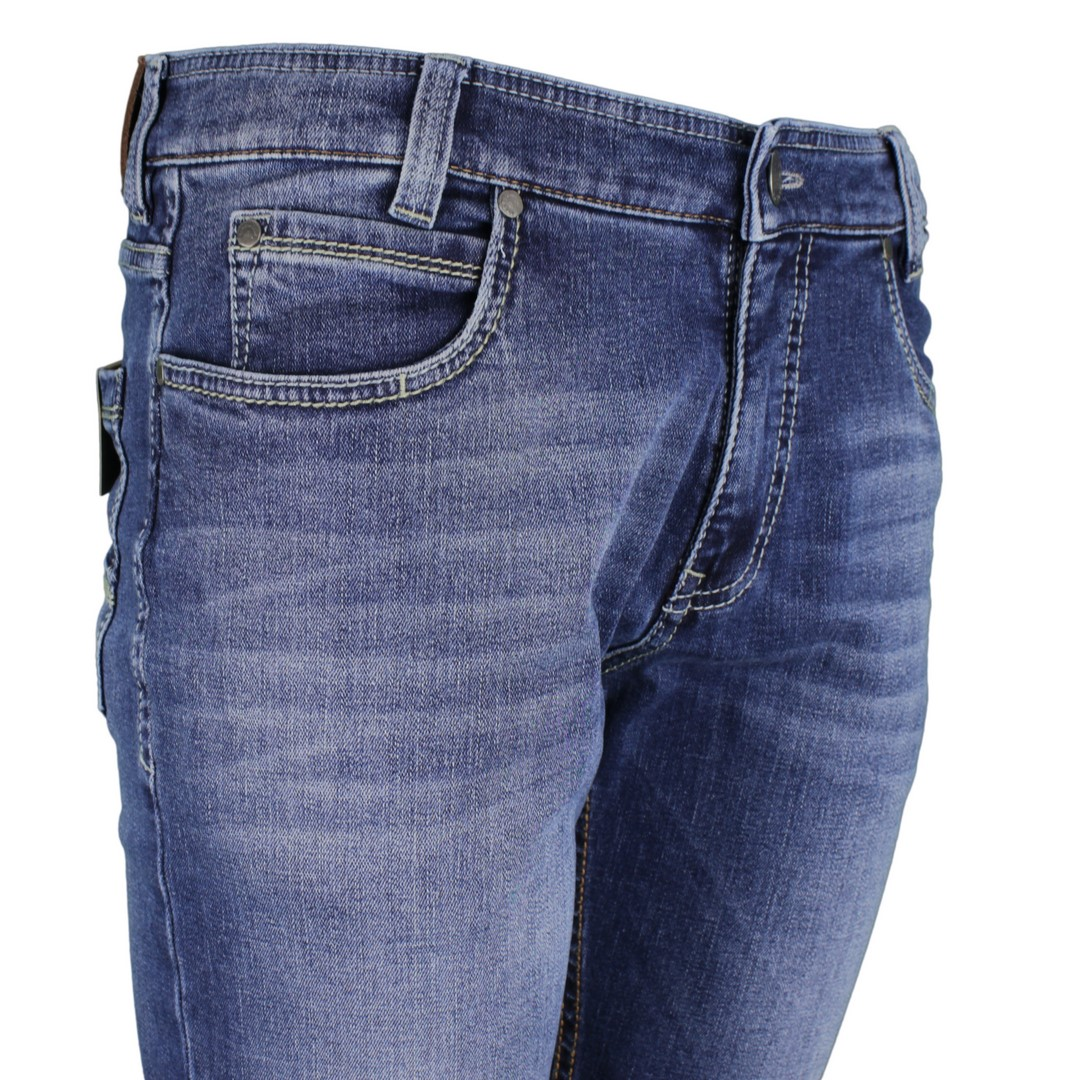Gardeur Herren Superflex Jeans Hose Modern fit blau Batu-2 71001 067