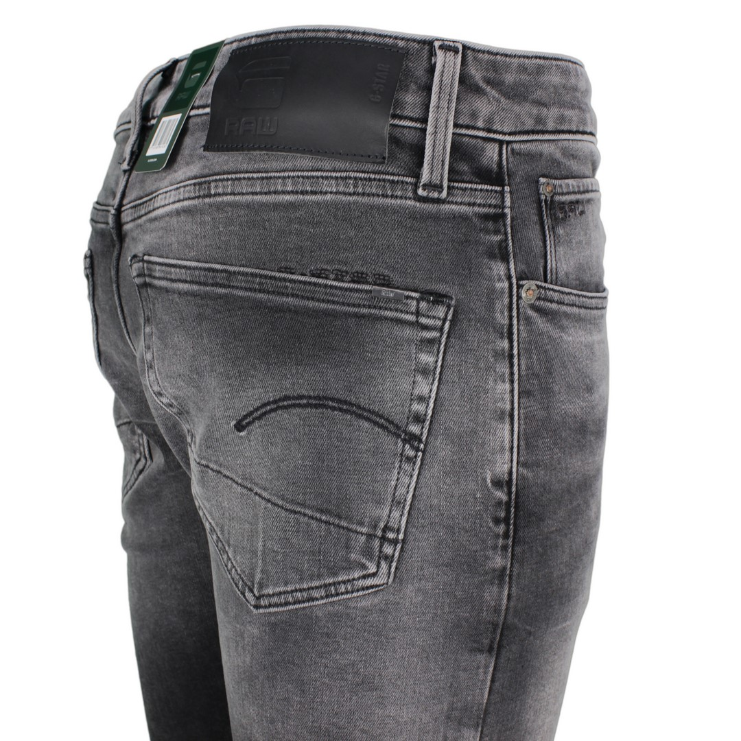 G-Star Raw Herren Jeans 3301 Slim Fit grau Denim 51001 B479 A800