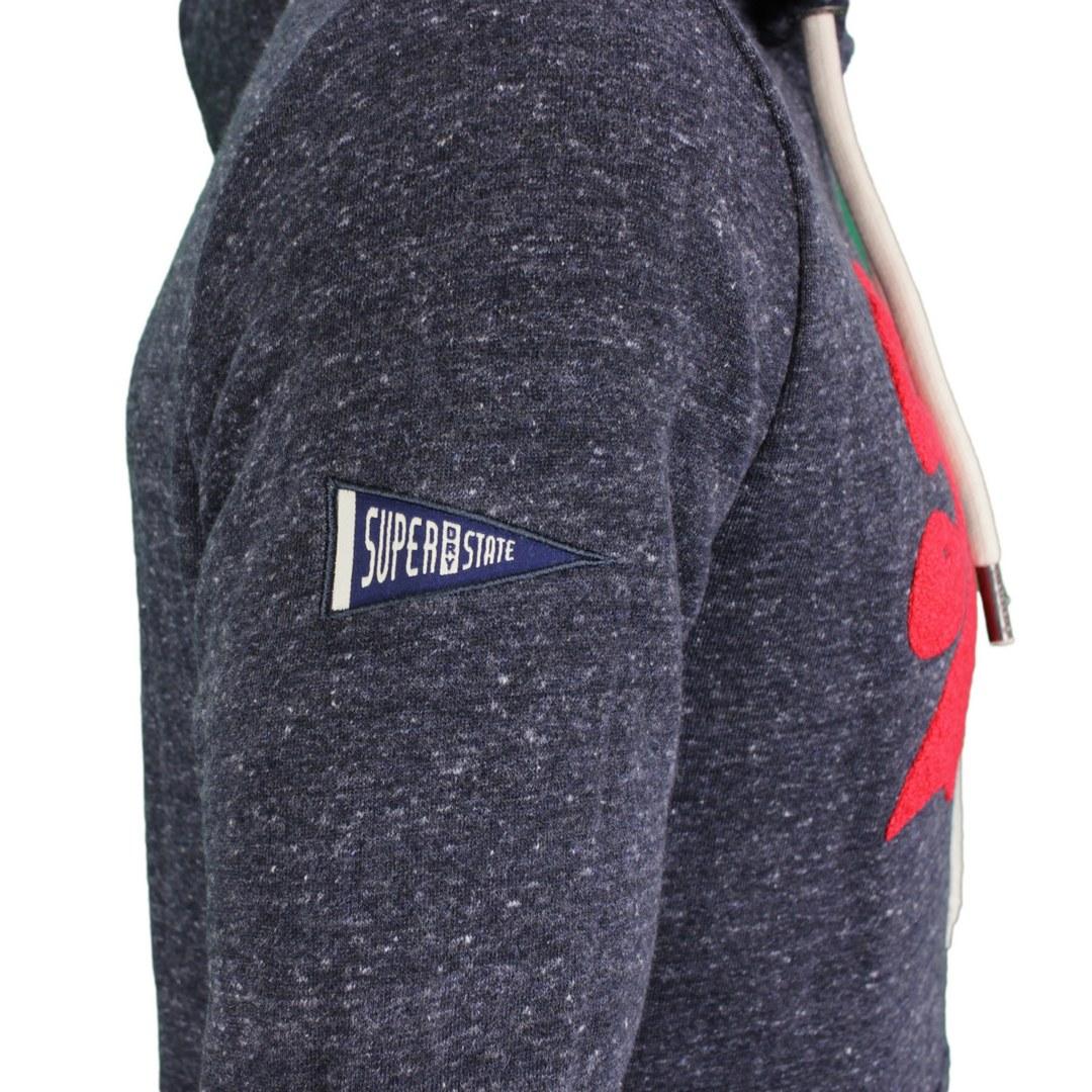 Superdry Sweat Pullover Hoodie M2011391A 97T navy marl VL Soprce Hood 5057847190291