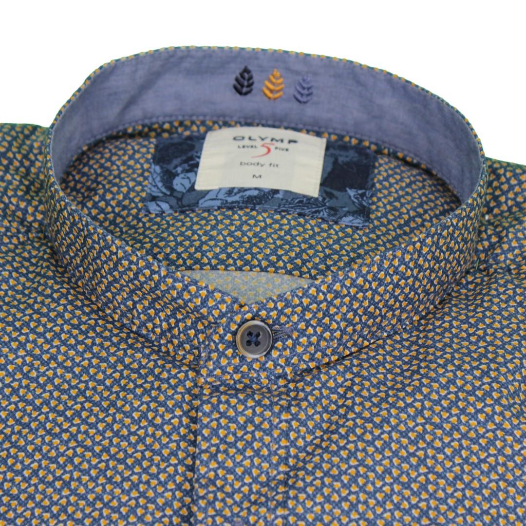 Olymp Herren Casual Level 5 Freizeit Hemd mehrfarbig gemustert 303864 53