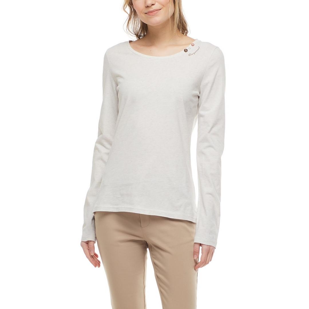 Ragwear Damen Langarmshirt Florah Long A Organic 2121 25016 6000 Beige