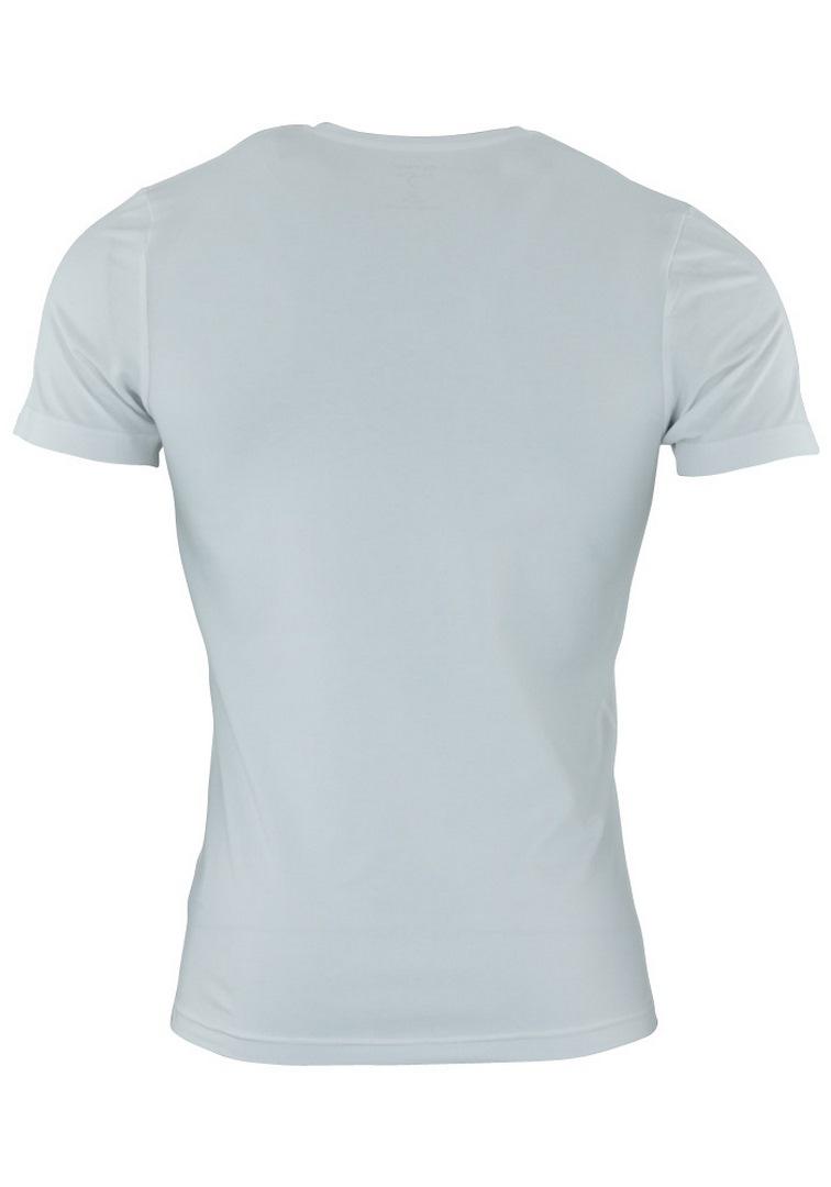 Olymp Body Fit Level Five 5 Basic T-Shirt weiß V-Ausschnitt 0801 12 00