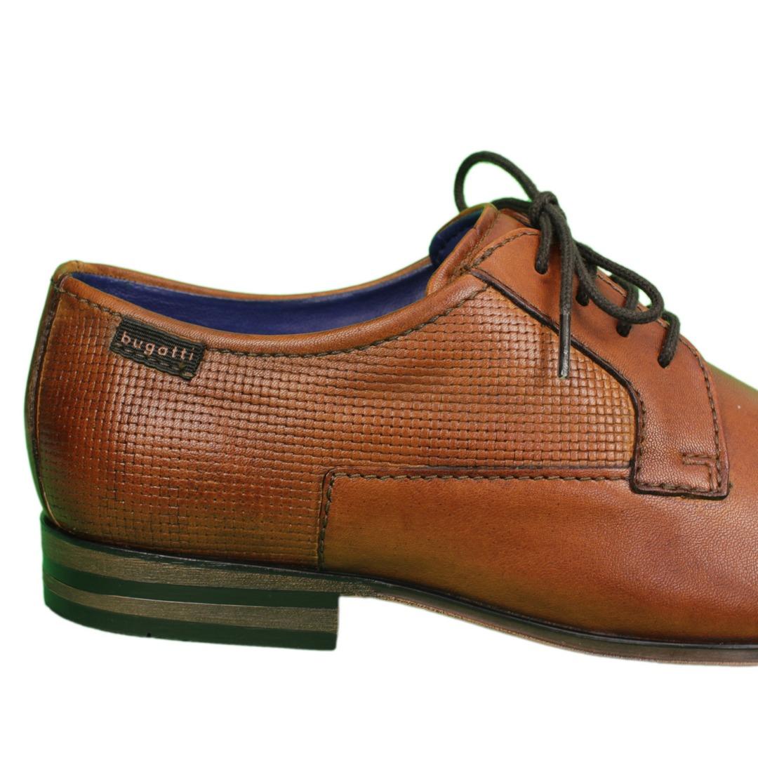 Bugatti Herren Schuhe Schnürschuhe braun 311 66614 3500 6300 cognac