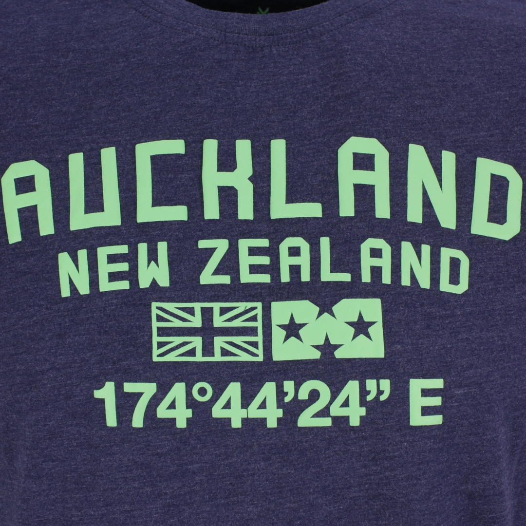 New Zealand Auckland NZA Herren T-Shirt blau 21CN712 281 native navy