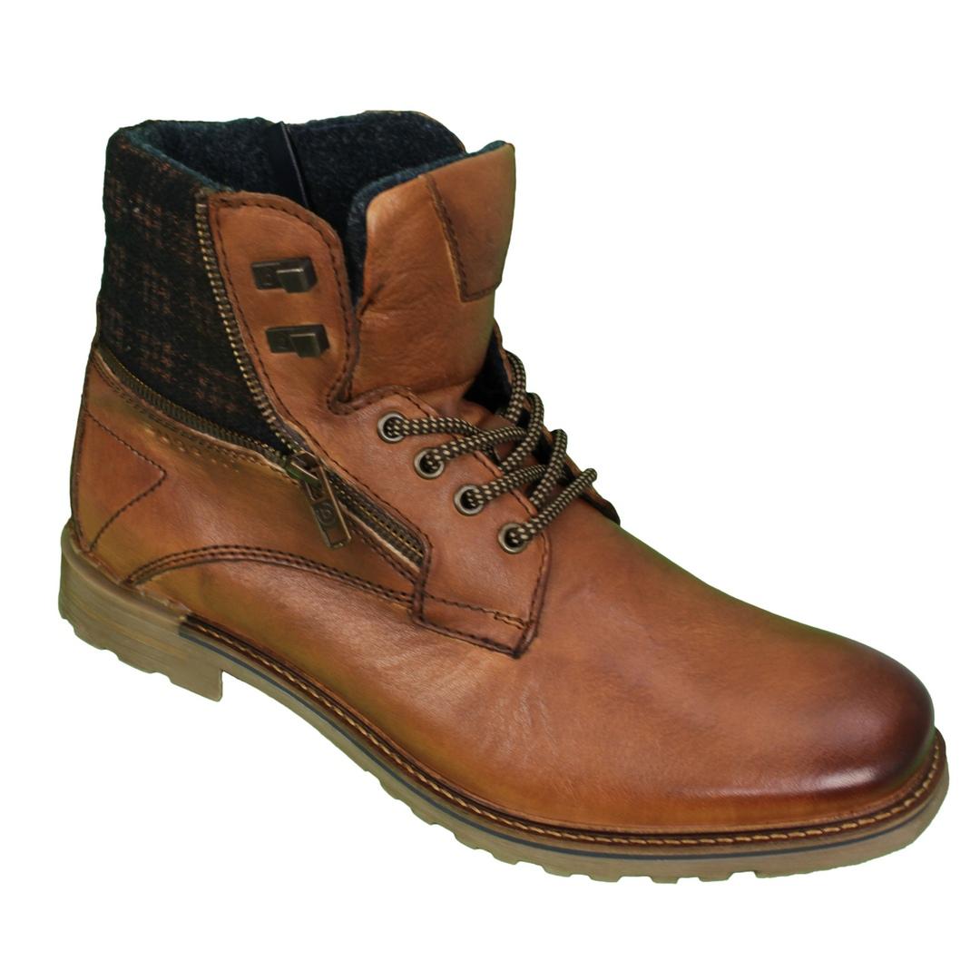 Bugatti Herren Schuhe Stiefel Boots braun 321 A0U32 1069 6360 cognac