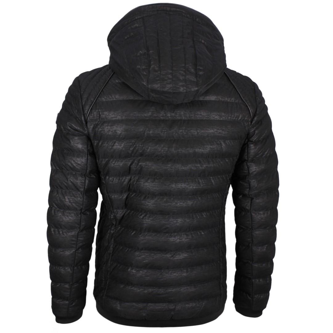 Wellensteyn Herren Winter Jacke schwarz Molecule Men Hood MOLH 460 black