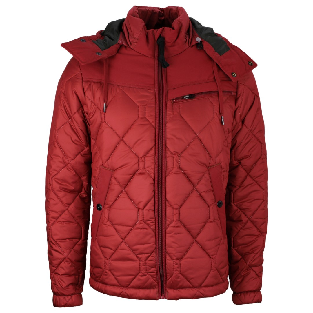 G-Star Raw Herren Winter Jacke Attacc heatseal quilted dry red rot D17564 C470 5298