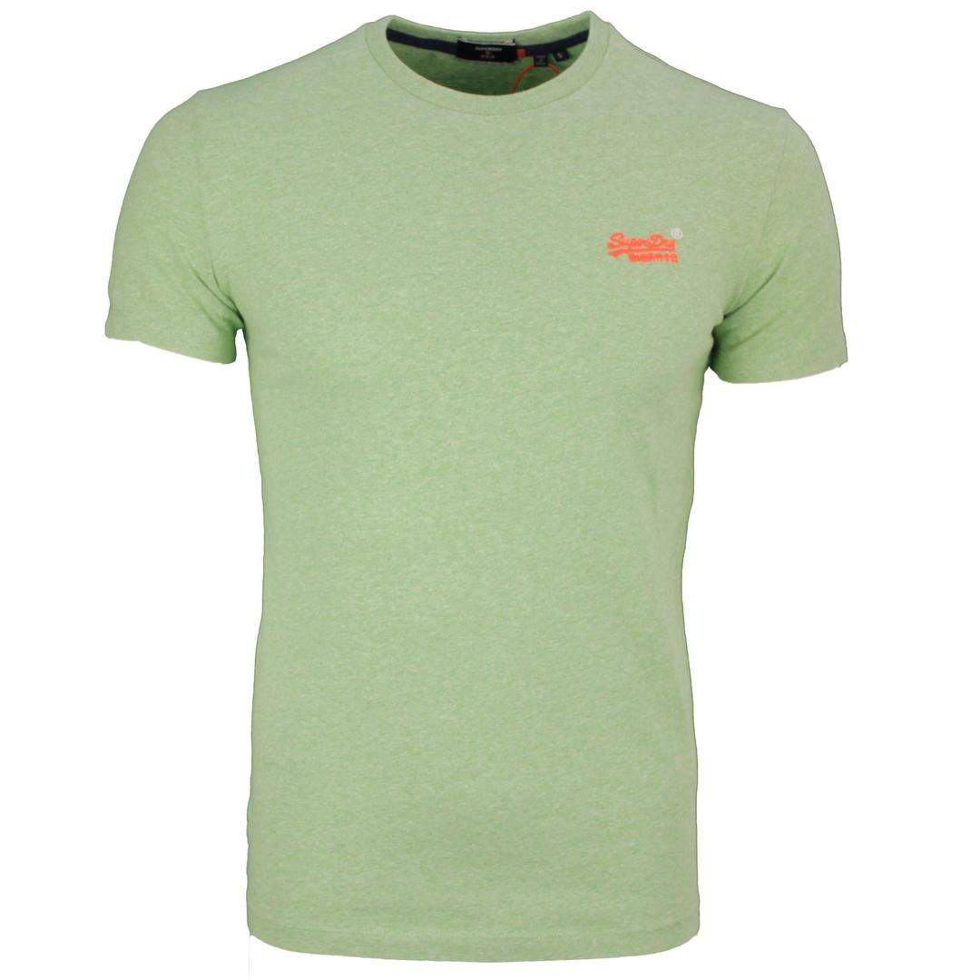 Superdry Herren T-Shirt OL Vintage Embroidery Tee grün M1010119A OQ8 green