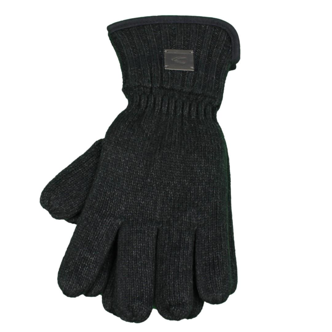 Camel active Herren Handschuhe schwarz meliert 4G31 408310 09