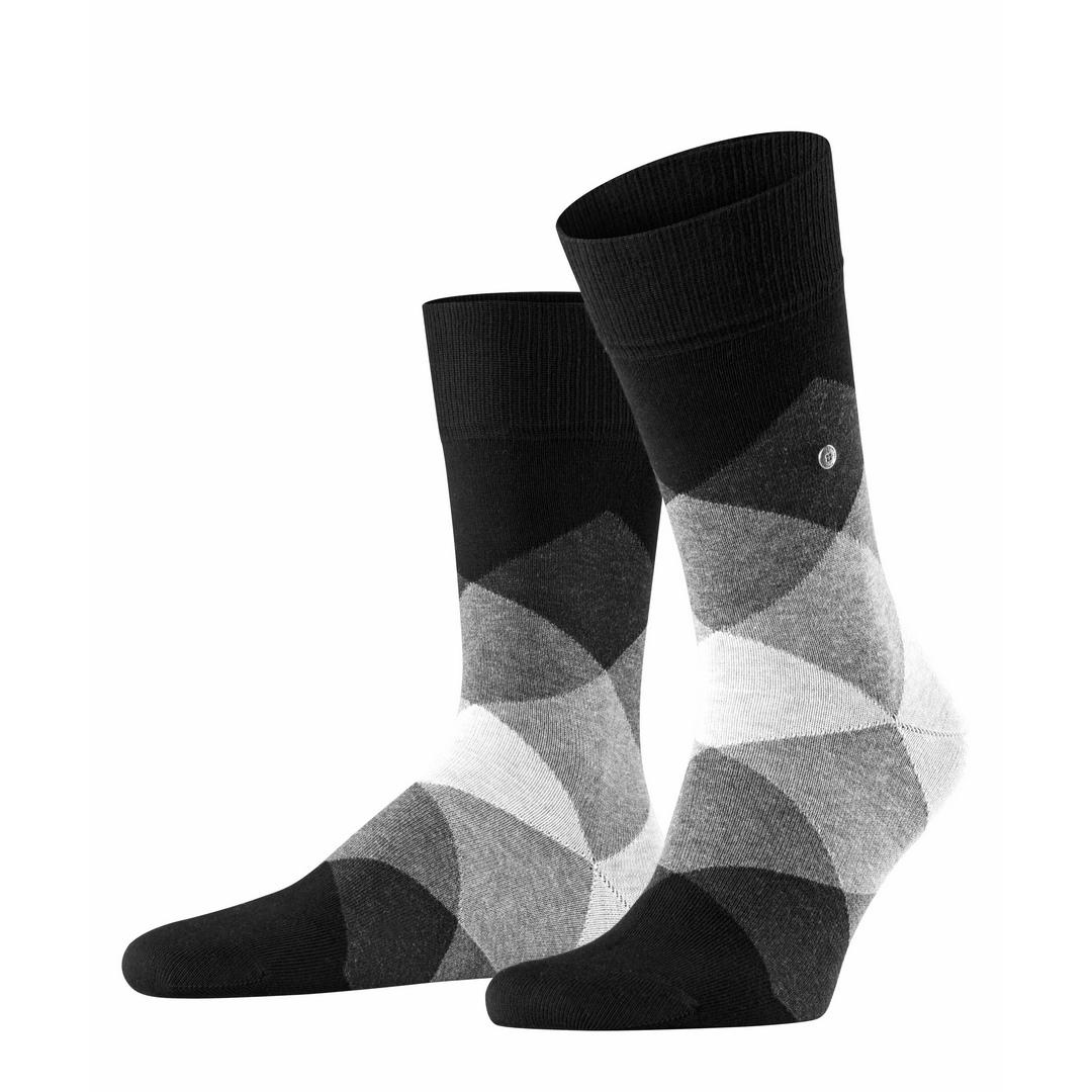 Falke Socken mehrfarbig Agryle Muster Burlington Clyde 20942 3002