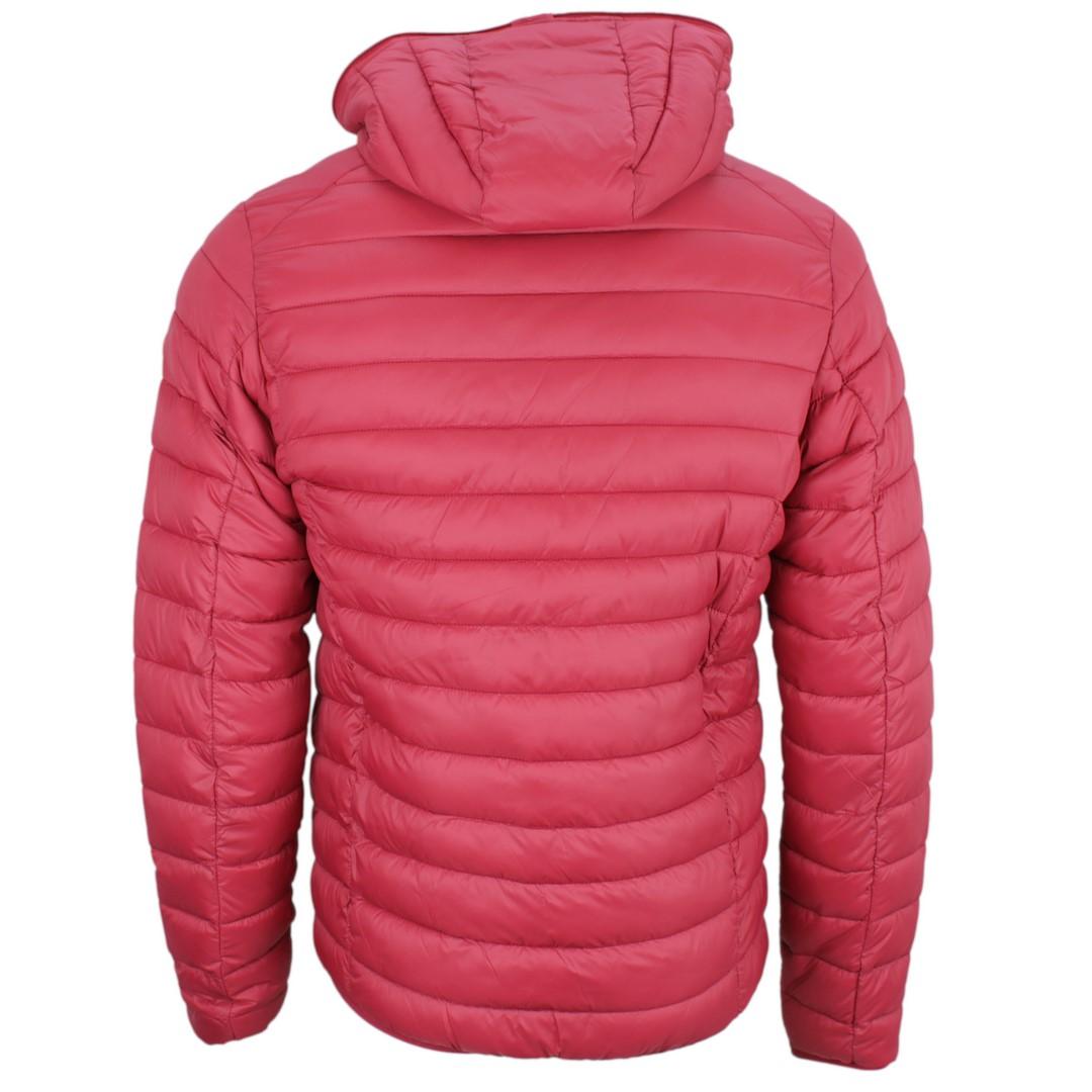 Save the Duck Herren Winter Jacke rot gesteppt D3065M-Giga9 1501 mineral red