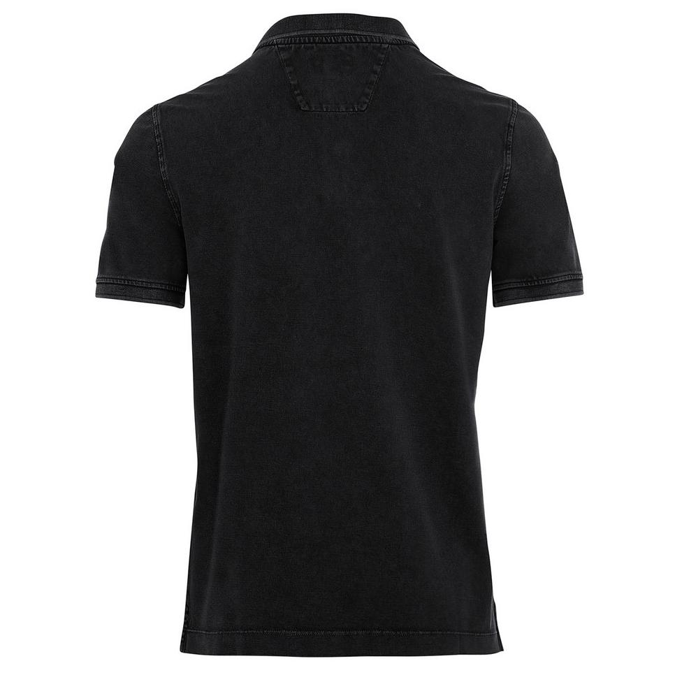 Camel active Herren Polo Shirt anthrazit unifarben 9P00 409460 88