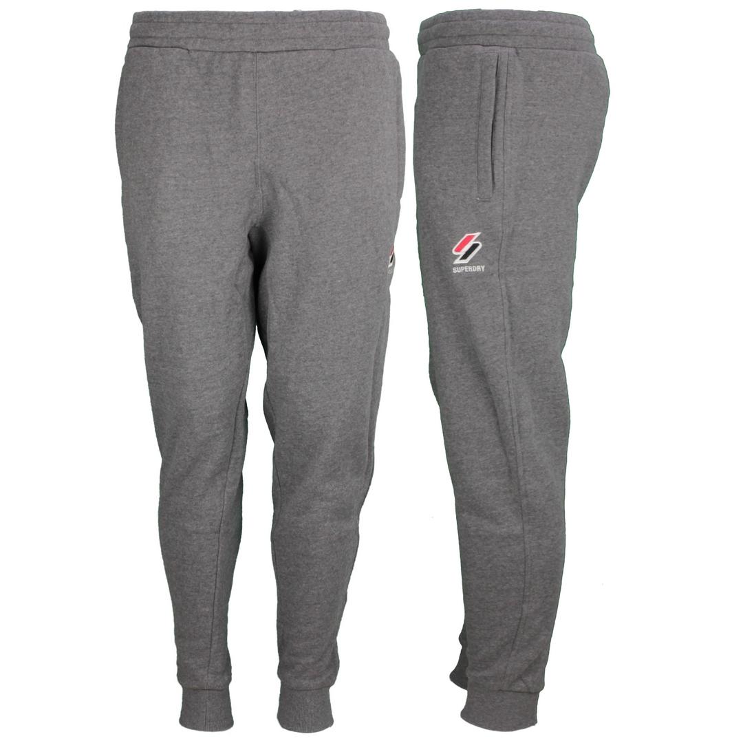 Superdry Sweat Jogging Hose Sportstyle Jogger grau M7010714A HEB charcoal