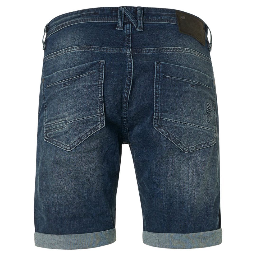 No Excess Jeans Short Ulitmate Stretch Shorts blau N819UX2 220 Denim